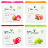 グリーンデイgreendayクリスピーフルーツミニパック4種セット