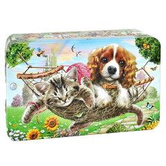 チャーチル Churchill's ガーデンパーティー 犬猫缶 ミニチョコチップクッキー[海外&国内土産・旅行用品 三洋堂]