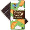 [5400円以上で送料無料] チョコレートフロムヘブン 72%ダークオレンジ【880213】