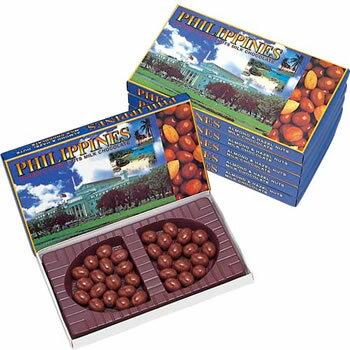 [送料無料] フィリピンお土産 | フィリピン ナッツチョコレート 6箱セット【206089】