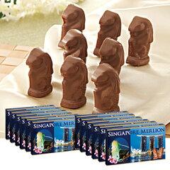 セットでお得!マーライオンを形どったチョコシンガポールお土産 | マーライオン アーモンドチ...