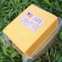 【セミハード】【大容量】【お料理・パン作りに】アメリカ レッド チェダー チーズ(Cheddar Cheese) 1kgカット(1000g以上お届け)【チーズダッカルビ】【業務用】