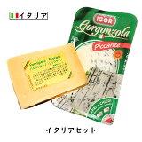 【楽天 スーパーセール 対象商品】にこにこ イタリアチーズセット 【パルミジャーノ・レッジャーノ 200g ・ゴルゴンゾーラ 160g】(総重量360g以上お届け) (Parmigiano Reggiano)(Gorgonzola【DOP】【各国のチーズ2個セット】