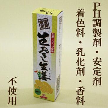 ●【東京フード】【生おろし生姜】 40g 【無着色 国産しょうが】チューブしょうが【自然食品】