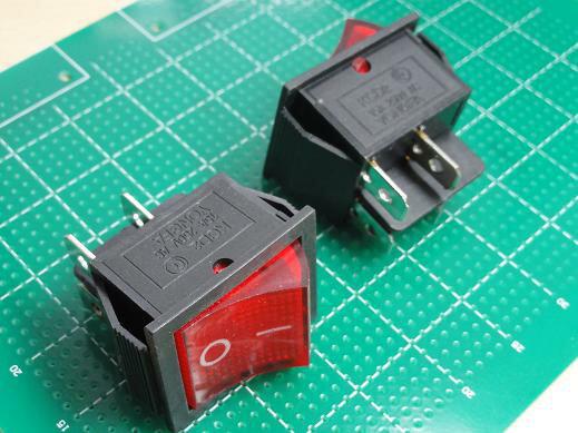 <ロッカースイッチ><2回路1接点ON-OFFタイプ>2個入<swp-129>