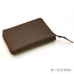 角型コインケース日本製牛革(オイルドレザー)