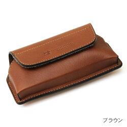 横型スマートフォンケースiPhone対応!日本製牛革(オイルドレザー)
