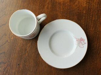 【おひとり様2個まで100円】【アウトレット】カトレアコーヒーカップ&ソーサー