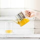 紅茶ポット 急須 [b2c ガラス ティーポット 耐熱] リーフティーポット ティーサーバー 茶こし付 サラサデザインストア