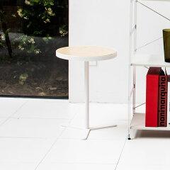 【着後レビューで全国一律送料390円】サイドテーブル ナイトテーブル ミニテーブル コーヒーテーブル [b2c シンプル ミニテーブル / ラウンド(ホワイト)] テーブル 木製 ホワイト シンプル 北欧