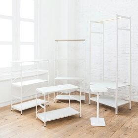 【全国一律送料390円】サイドテーブルナイトテーブルミニテーブルコーヒーテーブル[b2cシンプルミニテーブル/スクエア(ホワイト)]テーブル木製ホワイトシンプル(by_sarasa-design)