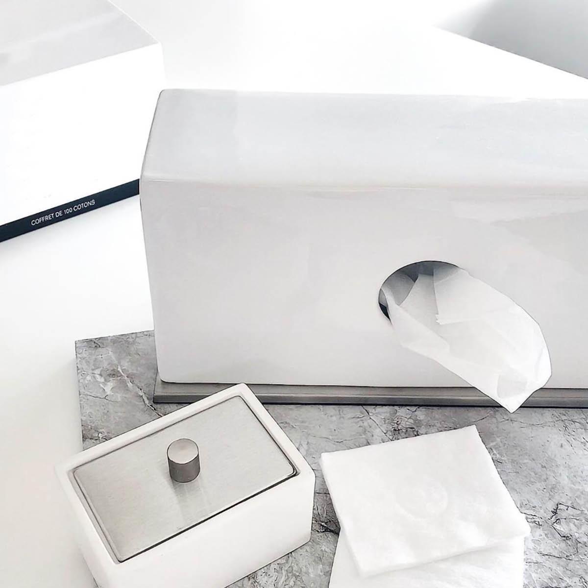 ティッシュケース ティッシュカバー [b2c セラミック ティッシュスタンド(ホワイト)] ポケットティッシュ ボックス#SALE_BT