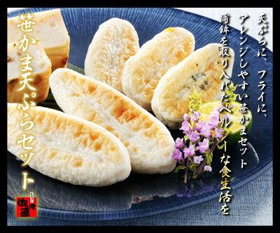 【笹かまぼこ】 笹かま 天ぷら セット (R-1)<かまぼこ 佐々直>【仙台 宮…