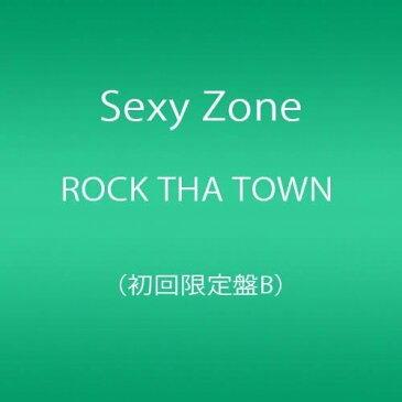 新品 Sexy Zone ROCK THA TOWN 初回限定盤B CD+DVD