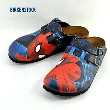 10% OFF SALEビルケンシュトック BIRKENSTOCKKay ビルキー ナローフィット スパイダーマン MARVEL マーベル (ブルー) 936637 コンフォートシューズ メンズ シューズ 靴 セール品