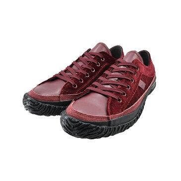 スピングルムーヴ SPINGLE MOVEムーブ ローカット スペイン製ベルベッド ラメ キラキラ 日本製 カウレザー 本革 牛革 赤 111(レッド(〜24.5cm)) SPM159 スニーカー レディース ユニセックス シューズ 靴