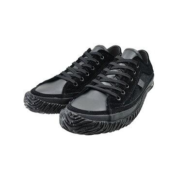 スピングルムーヴ SPINGLE MOVEムーブ ローカット スペイン製ベルベッド ラメ キラキラ 日本製 カウレザー 本革 牛革 黒 クロ 111(ブラック(25cm〜)) SPM159 スニーカー メンズ ユニセックス シューズ 靴
