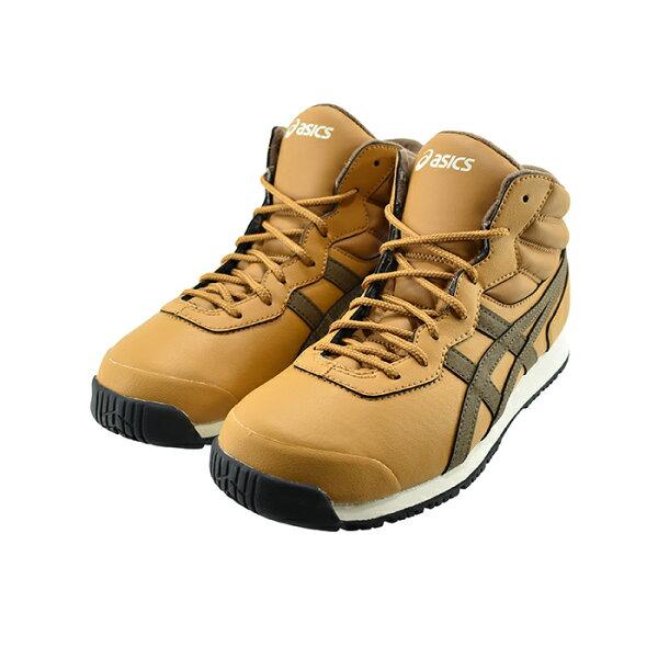 アシックスasicsスノトレSP7スノートレ靴幅ワイド幅広保温あったか防寒ウィンタータンプレシディオ/クレイキャニオンキャメルブ