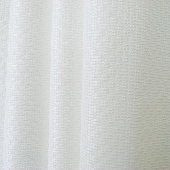 DESIGN LIFE 既製サイズ レースカーテン【サイズ:幅100cm×丈198cm】【2枚組】ムースデザイン レース ウォッシャブルミラーレースカーテン サラクール 遮熱