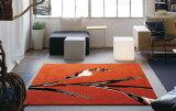 NEXT HOME メリ ラグ【カラー:オレンジ】【サイズ:140cm×200cm】床暖房・ホットカーペット対応