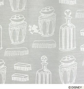ディズニー ミッキー チャーミングボトル ボイル レースカーテン【サイズ:幅100cm×丈198cm】【1枚入り】disney mickey charming voile curtain丸洗いOK!ウォッシャブル 既製カーテン【日本製】【正規品】[M1013]