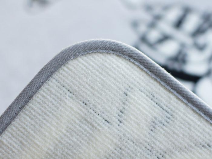 リサ・ラーソンマイキーキッチンマット[QE1003-15・95]日本製【サイズ:約50cm×180cm】デザイナーズブランド【LISALARSON】洗濯機洗いOK滑り止め加工抗菌防臭吸水速乾