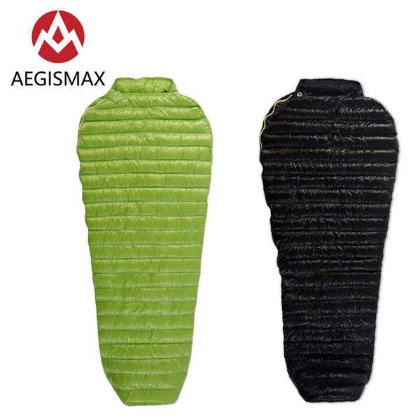 アウトドア用寝具, 寝袋・シュラフ AEGISMAX800FP (MINI-LONG) 2C 6 (L) 200x86cm 3