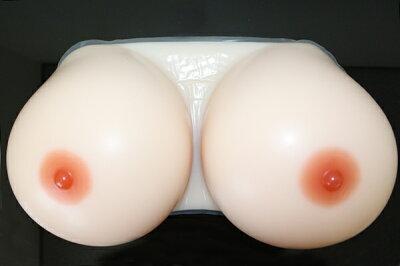 人工乳房 送料無料 皮膚付き hifu5000 シリコン製バスト高級人工乳房/シリコンおっぱい…