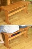 ベンチ 木製送料無料! シンプル な 木製ベンチ ♪簡単な組み立てが必要です♪(参考: ウッド 2人掛け 2人用 ブラウン 茶色 イス 椅子 いす チェア )