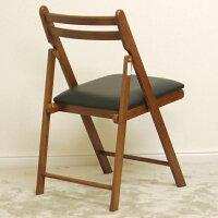 【木製折りたたみチェア(ダークブラウン・完成品)】送料は1脚525円♪かんたんスムーズに折りたためる便利なチェアです♪(参考:茶色椅子イス折り畳み椅子折り畳みいすスツールダイニングチェアー送料込激安最安楽天)