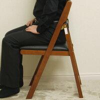 折りたたみチェア椅子折りたたみ椅子木製チェアーアンティーク一人用イスいすダイニングチェアダイニングチェアーフォールディングチェア折り畳みダークブラウンブラウンミドルブラウンナチュラル茶色送料無料(北海道・沖縄・離島を除く)完成品