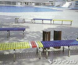 【送料無料】【受注生産品】テラモトホームベンチステン1500青BC-302-315-3