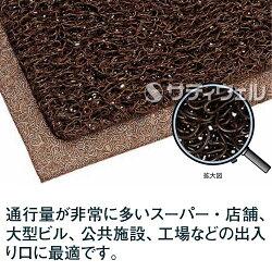 【送料無料】【受注生産品】3Mノーマッドマットエキストラ・デューティシート:900mm×1,200mm茶【HLS_DU】