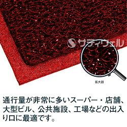 【送料無料】【受注生産品】3Mノーマッドマットエキストラ・デューティシート:900mm×1,200mm赤【HLS_DU】