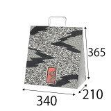 【ケース販売】ラッピーバッグ NO.7 小紋 150枚 巾340×マチ210×高さ365mm【業務用 手提げ袋 手提げ紙袋 紙袋 手提げ マチ広 和風】