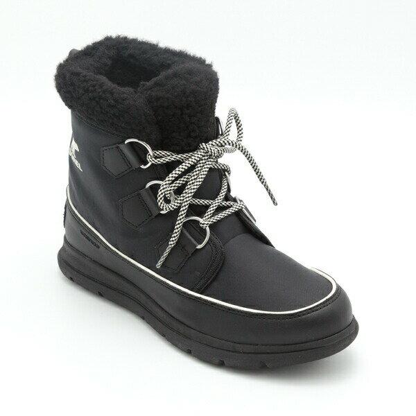 レディース靴, スノーシューズ SOREL Explorer Carnival NL3040-010