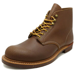 【今なら10%OFFクーポンが利用できます】RED WING レッドウィング 6 ROUND BROWN メンズ ブーツ 茶色 ブラウン 8015