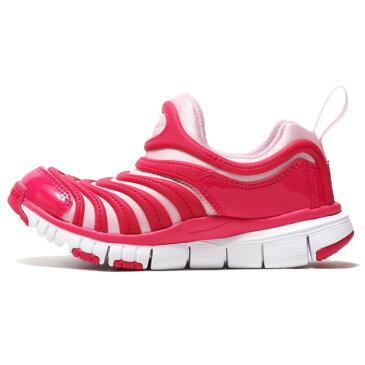 【17.0-22.0cm】[キッズ] Nike ナイキ ダイナモ フリー スニーカー ラッシュピンク/ホワイト/ピンク