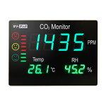 サトテックアラームつき大型CO2表示器HJ-CO2-LED75