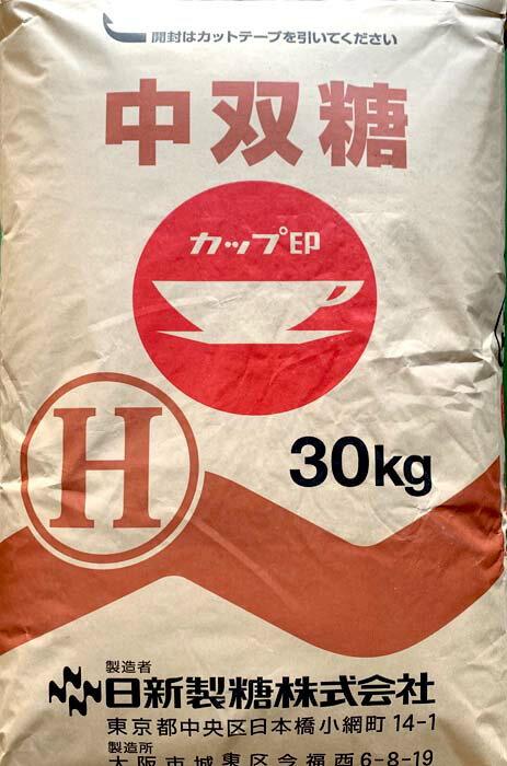 日新製糖株式会社 中ザラ糖H 30KG 業務用