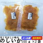 【メール便送料無料】のしいか100g×2袋おつまみ珍味のし烏賊