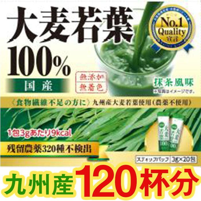 九州産大麦若葉100%粉末 20包×6箱