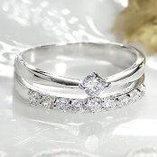 pt900【0.40ct】テンダイヤモンドリング