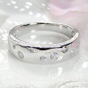 pt900【0.20ct】pt900ダイヤモンドドットリング