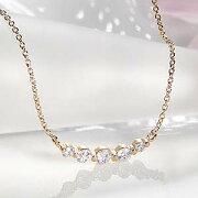 ファッション ジュエリー アクセサリー レディース ネックレス ホワイト ゴールド ダイヤモンド イエロー ペンダント プレゼント グラデーション クリスマス
