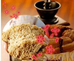 """[完全手作り] 春だけの""""桜""""の紅茶のシフォンケーキ"""