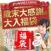 【澤井珈琲】 送料無料 ポイント10倍 今年一年の感謝を込めた歳末感謝のコーヒー福袋(ドリップコーヒー/レギュラーコーヒー)