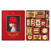 赤い帽子レッドボックスRedbox【クッキー詰合せ・缶入り・お菓子ギフトチボリーナ】AkaiBohshi【楽ギフ_のし宛書】
