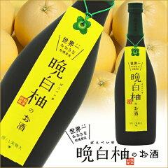 【ザボンリキュール】晩白柚(ばんぺいゆ)のお酒 8度 720ml【世界最重量の柑橘果実】【堤酒造】