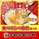 【16日9:59まで5倍】宇都宮餃子館 食べ比べ8色セット(健太餃子・...